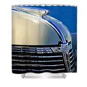 1933 Chevrolet Hood Ornament Shower Curtain