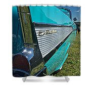 1957 Chevy Convertable Shower Curtain