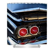 1959 Chevrolet El Camino Taillight Shower Curtain