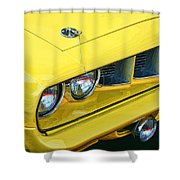 1971 Plymouth Cuda 440 Shower Curtain