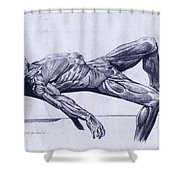 A Flayed Cadaver Shower Curtain