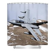 A Royal Air Force Tornado Gr4 Shower Curtain