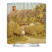 A Surrey Cottage Shower Curtain