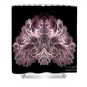 Abstract 190 Shower Curtain