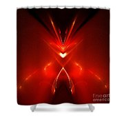 Abstract Sixty-one Shower Curtain