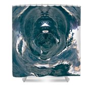 Abstracts From Croatia Shower Curtain