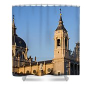 Almudena Cathedral In Madrid Shower Curtain