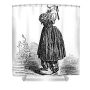 Amelia Bloomer (1818-1894) Shower Curtain