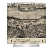 Andersonville Prison, 1864 Shower Curtain