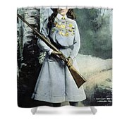 Annie Oakley (1860-1926) Shower Curtain