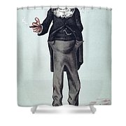 Anthony Trollope Shower Curtain