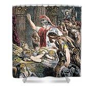 Antony & Cleopatra Shower Curtain