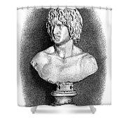 Arminius (c17 B.c.-21 A.d.) Shower Curtain by Granger