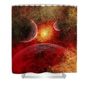 Artist Concept Illustrating The Stellar Shower Curtain