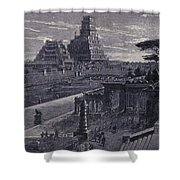 Babylon Shower Curtain by Photo Researchers
