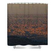 Bad Lands Shower Curtain