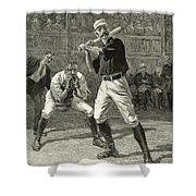 Baseball, 1888 Shower Curtain