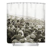 Baseball: Playoff, 1908 Shower Curtain