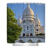 Basilique Du Sacre Coeur Shower Curtain