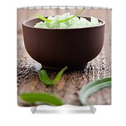 Bath Salt Shower Curtain