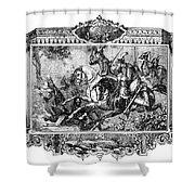 Battle Of Fallen Timbers Shower Curtain by Granger