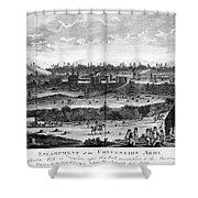 Battle Of Saratoga, 1777 Shower Curtain