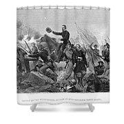 Battle Of Spotsylvania Shower Curtain