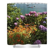 Bay Beside Glandore Village In West Shower Curtain
