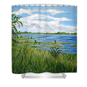Bayville 1 Shower Curtain