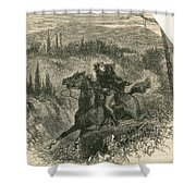 Benedict Arnold, American Traitor Shower Curtain by Photo Researchers