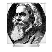 Benjamin Peirce, American Mathematician Shower Curtain