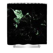 Bioluminescence Shower Curtain
