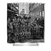 Blackwells Island, 1876 Shower Curtain by Granger