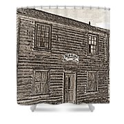 Boat Builders Cottage Shower Curtain