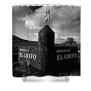 Bodegas El Grifo  Shower Curtain