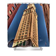 Boston Custom House Shower Curtain