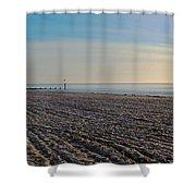 Bournemouth Beach Shower Curtain