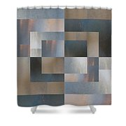 Brushed 26 Shower Curtain
