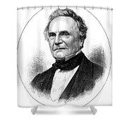 Charles Babbage, English Computer Shower Curtain