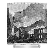 Chicago: Fire, 1871 Shower Curtain