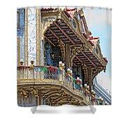 Chinatown Shower Curtain