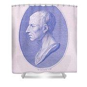 Cicero, Roman Philosopher Shower Curtain