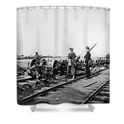 Civil War: Bull Run, 1862 Shower Curtain