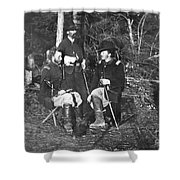 Civil War: Custer, 1862 Shower Curtain