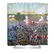 Civil War: Gettysburg, 1863 Shower Curtain