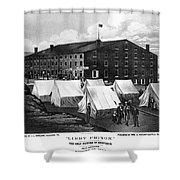 Civil War: Libby Prison Shower Curtain
