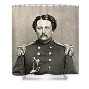 Civil War: Union Soldier Shower Curtain
