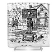 Colonial Pillory - To License For Professional Use Visit Granger.com Shower Curtain