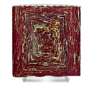 Coloristic Abstracts From Varikallio At Hossa Shower Curtain
