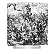 Colossus Of Rhodes Shower Curtain